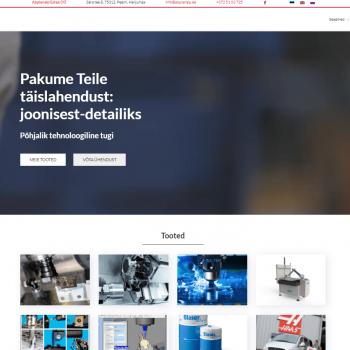 Abplanalp veebilehe tegemine